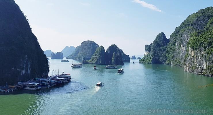Travelnews.lv ar kruīzu kuģi dodas divu dienu ceļojumā uz Halongas līci Vjetnamā. Sadarbībā ar 365 brīvdienas un Turkish Airlines 235258