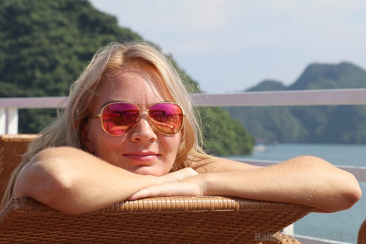 Travelnews.lv ar kruīzu kuģi dodas divu dienu ceļojumā uz Halongas līci Vjetnamā. Sadarbībā ar 365 brīvdienas un Turkish Airlines 235283