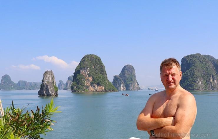 Travelnews.lv ar kruīzu kuģi dodas divu dienu ceļojumā uz Halongas līci Vjetnamā. Sadarbībā ar 365 brīvdienas un Turkish Airlines 235287