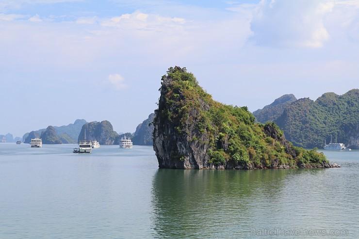 Travelnews.lv ar kruīzu kuģi dodas divu dienu ceļojumā uz Halongas līci Vjetnamā. Sadarbībā ar 365 brīvdienas un Turkish Airlines 235324