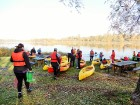 Rudenīgā laivu braucienā pa Sauso Daugavu tika apskatīti abi krasti Ķekavas un Salaspils novados. 3