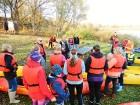 Rudenīgā laivu braucienā pa Sauso Daugavu tika apskatīti abi krasti Ķekavas un Salaspils novados. 5