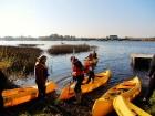 Rudenīgā laivu braucienā pa Sauso Daugavu tika apskatīti abi krasti Ķekavas un Salaspils novados. 18