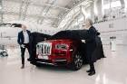 Rīgā 19.10.2018 tiek prezentēts pirmais «Rolls-Royce» zīmola apvidus vāģis «Rolls-Royce Cullinan». Foto: rolls-roycemotorcars.com 5