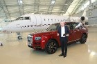 Rīgā 19.10.2018 tiek prezentēts pirmais «Rolls-Royce» zīmola apvidus vāģis «Rolls-Royce Cullinan» 9