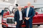 Rīgā 19.10.2018 tiek prezentēts pirmais «Rolls-Royce» zīmola apvidus vāģis «Rolls-Royce Cullinan». Foto: rolls-roycemotorcars.com 17