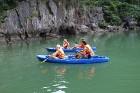 Travelnews.lv ar vjetnamiešu laivu Halongas līcī apciemo savvaļas pērtiķus. Sadarbībā ar 365 brīvdienas un Turkish Airlines 10