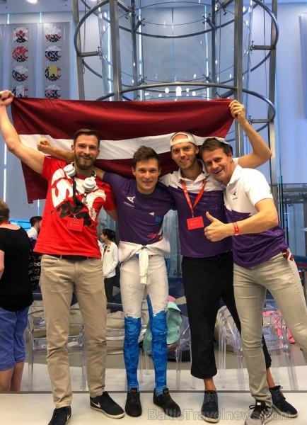 Latviešu lidotājs Toms Īvāns no AERODIUM komandas ir kļuvis par pasaules čempionu lidošanā vēja tunelī.