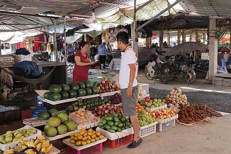 Travelnews.lv apmeklē ikdienišķu mazpilsētas tirgu Ziemeļvjetnamā. Sadarbībā ar 365 brīvdienas un Turkish Airlines
