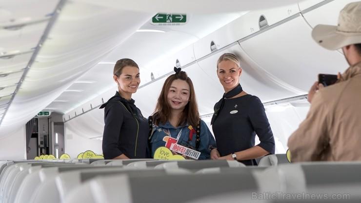 Latvijas lidsabiedrība «airBaltic» kopā ar lidmašīnu ražotāju «Airbus» no 2018. gada 6. līdz 8. novembrim pirmo reizi piedalās Ķīnas Starptautiskajā a