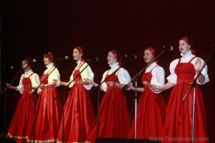 Sanatorijā «Jantarnij Bereg» krāšņi un skanīgi atzīmē Krievu kultūras dienas