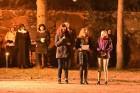 11. novembrī Jaunpils novada iedzīvotāji un viesi devās Lāčplēša dienas Gaismas gājienā no Jaunpils vidusskolas līdz Jaunpils pils laukumam, kur notik 13