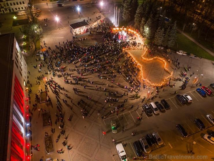 Fantastiski iemūžināti mirkļi no Lāčplēša dienas pasākumiem Daugavpilī