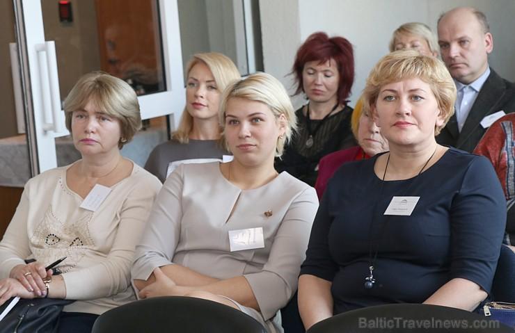 Kūrortpilsēta Birštona prezentējas Latvijas ceļojumu aģentiem Lietuvas vēstniecībā Rīgā