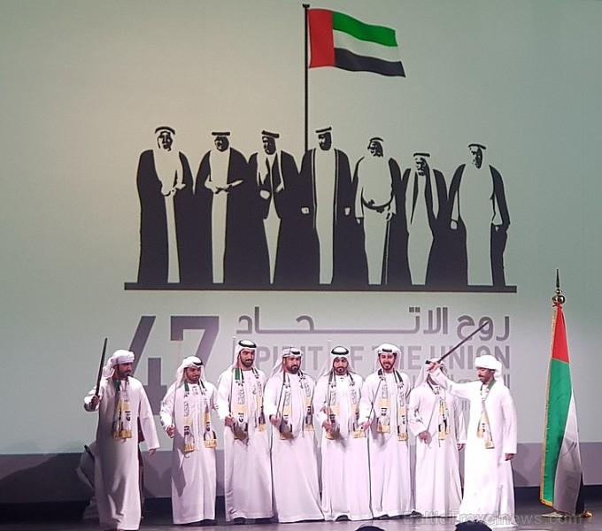 Apvienoto Arābu Emirāti ar vērienu atzīmē valsts 47.gadadienu VEF kultūras pilī