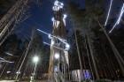 Jūrmalā - Dzintaru mežaparkā - atklāts Gaismas parks, kurā dažādos gaismas dekoros, skulptūrās jau otro gadu iemirdzas tūkstošiem LED gaismiņu. 3