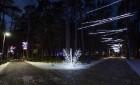 Jūrmalā - Dzintaru mežaparkā - atklāts Gaismas parks, kurā dažādos gaismas dekoros, skulptūrās jau otro gadu iemirdzas tūkstošiem LED gaismiņu. 6