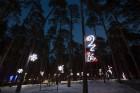 Jūrmalā - Dzintaru mežaparkā - atklāts Gaismas parks, kurā dažādos gaismas dekoros, skulptūrās jau otro gadu iemirdzas tūkstošiem LED gaismiņu. 7