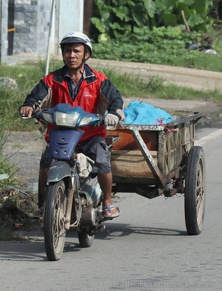 Vjetnamas galvenais transporta līdzeklis ir motorollers. Sadarbībā ar 365 brīvdienas un Turkish Airlines