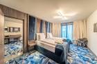 «Wellton Riverside SPA Hotel» četrzvaigžņu Superior viesnīca piedāvās 222 komfortablus numuriņus, izsmalcinātu ēdināšanu un lielāko Spa kompleksu Vecr 6