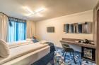 «Wellton Riverside SPA Hotel» četrzvaigžņu Superior viesnīca piedāvās 222 komfortablus numuriņus, izsmalcinātu ēdināšanu un lielāko Spa kompleksu Vecr 5