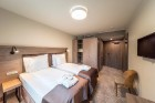 «Wellton Riverside SPA Hotel» četrzvaigžņu Superior viesnīca piedāvās 222 komfortablus numuriņus, izsmalcinātu ēdināšanu un lielāko Spa kompleksu Vecr 33