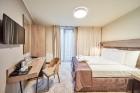 «Wellton Riverside SPA Hotel» četrzvaigžņu Superior viesnīca piedāvās 222 komfortablus numuriņus, izsmalcinātu ēdināšanu un lielāko Spa kompleksu Vecr 38
