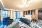 «Wellton Riverside SPA Hotel» četrzvaigžņu Superior viesnīca piedāvās 222 komfortablus numuriņus, izsmalcinātu ēdināšanu un lielāko Spa kompleksu Vecr 48