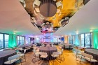 «Wellton Riverside SPA Hotel» četrzvaigžņu Superior viesnīca piedāvās 222 komfortablus numuriņus, izsmalcinātu ēdināšanu un lielāko Spa kompleksu Vecr 54