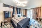 «Wellton Riverside SPA Hotel» četrzvaigžņu Superior viesnīca piedāvās 222 komfortablus numuriņus, izsmalcinātu ēdināšanu un lielāko Spa kompleksu Vecr 61