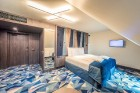 «Wellton Riverside SPA Hotel» četrzvaigžņu Superior viesnīca piedāvās 222 komfortablus numuriņus, izsmalcinātu ēdināšanu un lielāko Spa kompleksu Vecr 63