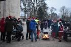 1301. gadā celtā Jaunpils pils mirdz gaišās svētku rotās un pulcē Jaunpils iedzīvotājus un viesus svētku gaidīšanas pasākumos 3
