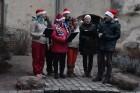 1301. gadā celtā Jaunpils pils mirdz gaišās svētku rotās un pulcē Jaunpils iedzīvotājus un viesus svētku gaidīšanas pasākumos 6
