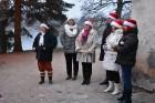 1301. gadā celtā Jaunpils pils mirdz gaišās svētku rotās un pulcē Jaunpils iedzīvotājus un viesus svētku gaidīšanas pasākumos 8