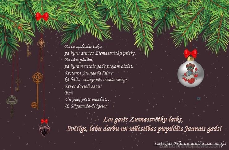 Latvijas Piļu un muižu asociācija, Paldies par apsveikumu!