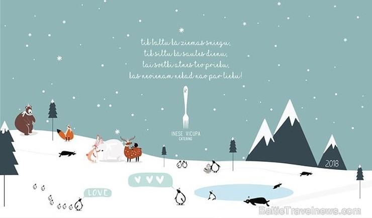 Inese Vicupa, Paldies par Ziemassvētku un Jaungada apsveikumiem!