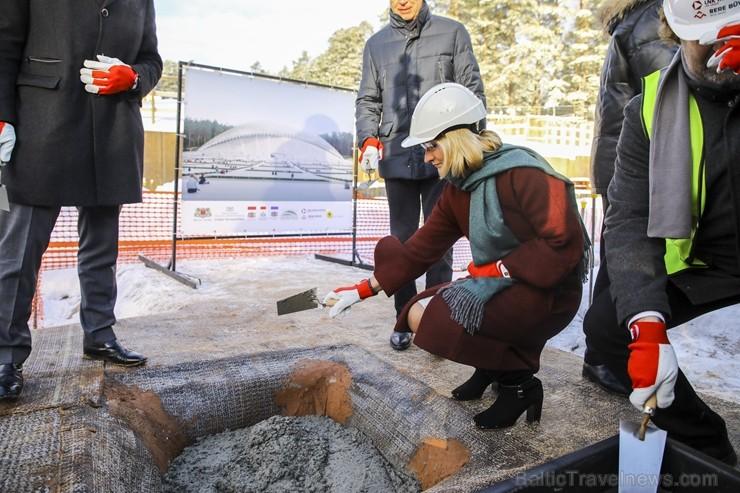 Mežaparka Lielās estrādes jaunās skatuves uzbūve notiks divās daļās - līdz 2020. gadam pirms XII Latvijas skolu jaunatnes dziesmu un deju svētkiem un