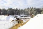 Mežaparka Lielās estrādes jaunās skatuves uzbūve notiks divās daļās - līdz 2020. gadam pirms XII Latvijas skolu jaunatnes dziesmu un deju svētkiem un  2