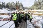 Mežaparka Lielās estrādes jaunās skatuves uzbūve notiks divās daļās - līdz 2020. gadam pirms XII Latvijas skolu jaunatnes dziesmu un deju svētkiem un  6