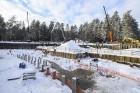 Mežaparka Lielās estrādes jaunās skatuves uzbūve notiks divās daļās - līdz 2020. gadam pirms XII Latvijas skolu jaunatnes dziesmu un deju svētkiem un  8