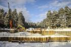 Mežaparka Lielās estrādes jaunās skatuves uzbūve notiks divās daļās - līdz 2020. gadam pirms XII Latvijas skolu jaunatnes dziesmu un deju svētkiem un  11