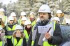 Mežaparka Lielās estrādes jaunās skatuves uzbūve notiks divās daļās - līdz 2020. gadam pirms XII Latvijas skolu jaunatnes dziesmu un deju svētkiem un  25