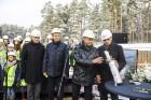 Mežaparka Lielās estrādes jaunās skatuves uzbūve notiks divās daļās - līdz 2020. gadam pirms XII Latvijas skolu jaunatnes dziesmu un deju svētkiem un  31