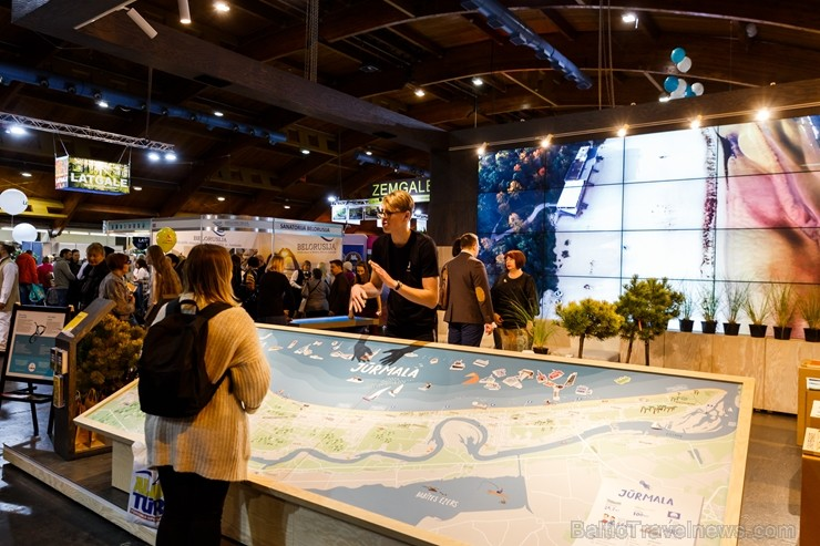 BALTTOUR.LV: Trīs dienas Ķīpsalas tūrismā izstādē «Balttour 2019» pulcējas ceļotāji. Vairāk foto: Tn.lv/foto/
