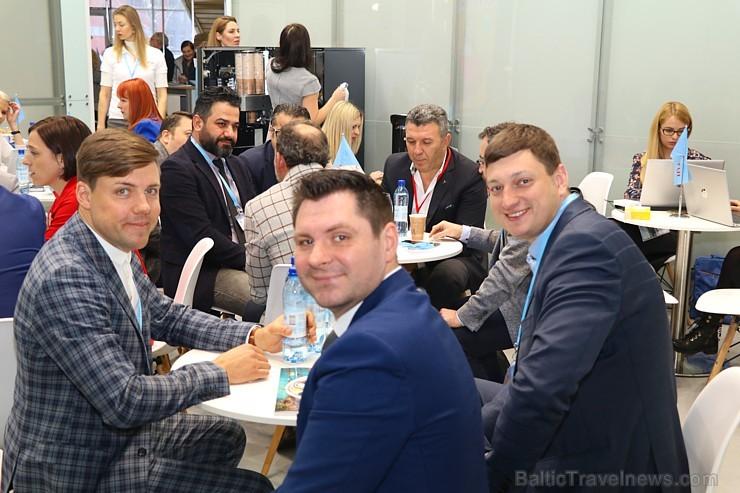 Tūrisma profesionāļi 3 dienas pulcējas izstādē «Balttour 2019». Vairāk foto: Tn.lv/foto/