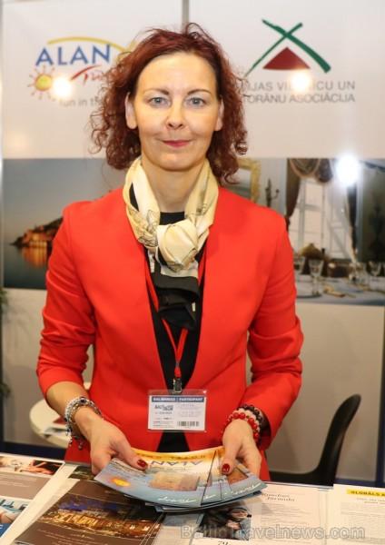 Tūrisma profesionāļi trīs dienas pulcējas ikgadējā izstādē «Balttour 2019». Vairāk foto: Tn.lv/foto/