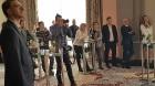 Viesnīcā «Grand Hotel Kempinski Riga»  pie pusdienu galda prezentējas uzņēmums «Moller Baltic Import» 8