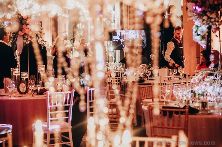 Viesnīcā «Grand Hotel Kempinski Riga» norisinās unikāls pasākums «Fake Wedding by Heaven 67»