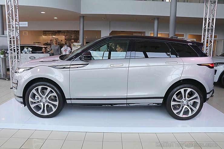 Latvijā pirmo reizi 19.02.2019 tiek prezentēts otrās paaudzes «Range Rover Evoque»