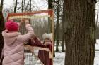 Rembates parkā pie Lielvārdes novada Kultūras centra jau otro gadu tika svinēti Meteņi, lai kopā ieskandinātu pavasari 4